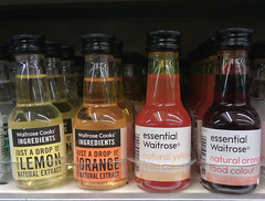 Challenge Friday, week 17, theme citrine - NO citrine in Waitrose products (karenblakeman) Tags: citrine waitrose foodcolourings orange yellow 2019 april uk challengefriday cf19