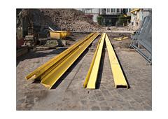Le jaune est la couleur du prêt-à-bâtir, cet été. (MonFolio (chr. Bernard)) Tags: olympus penf 17mm charleroi