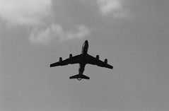 15.5.1989 THF Berlin KC-135 US Air Force Tanker (rieblinga) Tags: berlin flughafen tempelhof thf tag der offenen tür 1551989 kc135 boeing 707 us air force analog revue ac3 pan 100 chemie tanker