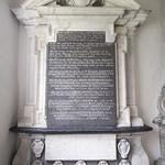 Monument to Eliab Harvey d.1661