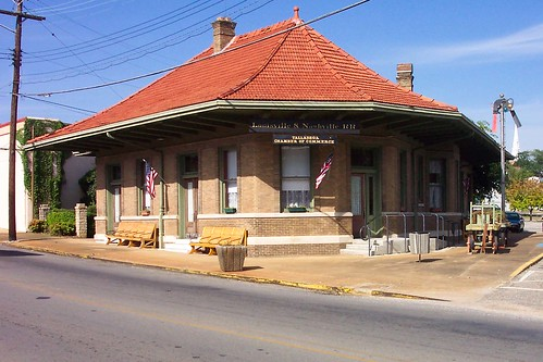 Talladega - Alabama - Louisville & Nashville R R Station  Depot -  Chamber of Commerce