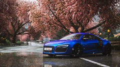 driveclub (R.G.Screenshot) Tags: driveclub r8 audi audir8 rain japan cinematic screenshot sky ps4 ps4pro photocinematic