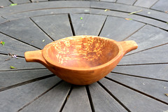 Apple bowl (maddpete) Tags: bowl apple handcarved