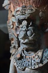 7th Century Mayan Censer (peterkelly) Tags: digital canon 6d northamerica gadventures mayandiscovery palenque palenquenationalpark chiapas sitiomuseum stucco priest censer 7thcentury head mayan maya
