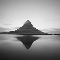 Kirkjufell (frodi brinks photography) Tags: iceland kirkjufell mountain outdoor travel photography bnw blackandwhite black white