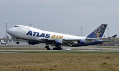 Atlas Air N446MC, KLM PH-BXO, OSL ENGM Gardermoen (Inger Bjørndal Foss) Tags: n446mc atlasair boeing 747 cargo osl engm gardermoen