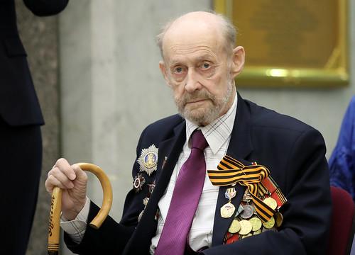 Кинооператор и режиссёр Александр Ульянов. ©  РГДБ / RGDB