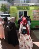 Fresh Halal Food (ep_jhu) Tags: xt3 foodtruck women washington islam conventioncenter truck halal dc fujifilm covered muslims covering fuji headscarves comida hijab food vehicle frombehind districtofcolumbia unitedstatesofamerica