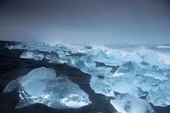 Jökulsárlón Beach II (craig.denford) Tags: jökulsárlón beach iceland glacial lagoon canon 7d mark ii manfrotto lee filters