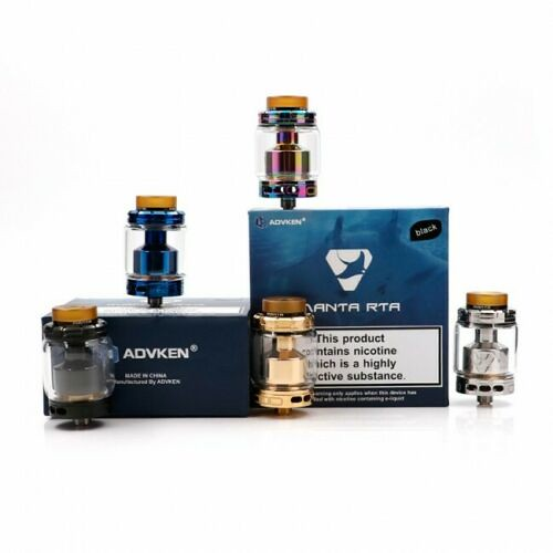ADVKEN Manta RTA 24MM With 810 Drip genuine Tip New Designs