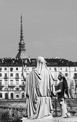 La Fede di Torino (fabrizio_buoso) Tags: nikonclubit noiretblanc torino turin piemonte biancoenero bw bianconero blackwhite blackandwhite monocromo lacittàmetropolitanaditorinovistadavoi