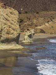 Spain - Almeria - Nijar - La Isleta (Marcial Bernabeu) Tags: europe europa south sur spain españa andalusia andalucia andalucía almeria almería níjar nijar isleta beach playa mediterranean sea mar mediterraneo mediterráneo cabo gata