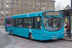 Arriva YJ62JXT (Mike McNiven) Tags: arriva yorkshire dewsbury huddersfield railwaystation leeds wright pulsar2 vdlbus westyorkshire