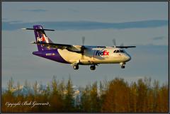 N912FX Federal Express FedEx Feeder (Bob Garrard) Tags: n912fx federal express atr 42 aérospatiale anc panc fedex feeder
