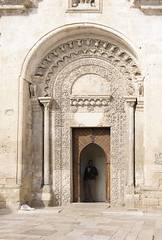 Chiesa di San Giovanni Battista, , Matera (kate223332) Tags: matera chiesa sangiovanni architecture religion church saintjohn italy door portal