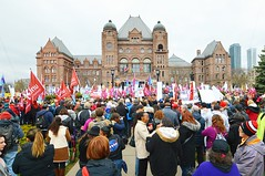 Ontario Health Care Workers Rally & Protest Demonstration .... Ontario Legislative Building / Queen's Park .... Toronto, Ontario (Greg's Southern Ontario (catching Up Slowly)) Tags: demonstration photojournalism queensparkprotest ontariohealthcareworkersrally2019 ontariolegislaturebuilding massiverallyontariohealthcarecuts ontariohealthcoalition torontoist