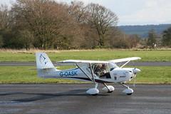 G-OASK Eurofox (Vernon Harvey) Tags: goask aeroprakt eurofox fife glenrothes egpj