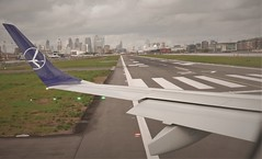 Takeoff from the aircraftcarrier (roomman) Tags: 2019 lot polish airlines lcy waw warsaw london city airport transport transportation flight jet embraer splma lma epwa eglc uk united kingdom england wing dock docklands aircraftcarrier aircraft carrier aerial aereal plane travel journey airline
