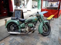 motorbikin' (buckaroo kid) Tags: london uk waterloo lowermarsh motorbike vintage
