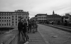 Love in Florence (michele.palombi) Tags: love florence tuscany film 35mm analogic fomapan 400asa