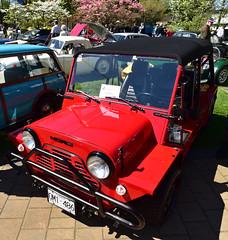 1989 Austin Mini Moke (D70) Tags: 14thannual stgeorgesbritishmotoringshow fortlangley britishcolumbia canadafortlangley canada 1989 austin mini moke
