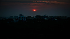 Sunset over Cubbon Park viewed from JW Marriott Hotel Bengaluru - Bangalore India (mbell1975) Tags: bangalore karnataka india sunset over cubbon park viewed from jw marriott hotel bengaluru indian sun orange clouds cloud