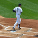 Derek Jeter with home run #247 to leadoff the game