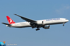 TC-JJU (minh261) Tags: turkish airlines boeing 777 777300 777300er bangkok suvarnabhumi airport