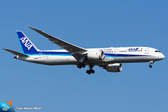 JA886A (minh261) Tags: all nippon airways ana boeing 787 7879 dreamliner bangkok suvarnabhumi airport