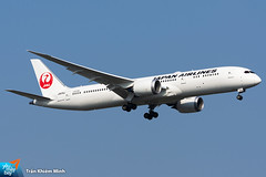 JA876J (minh261) Tags: japan airlines boeing 787 7879 dreamliner bangkok suvarnabhumi airport