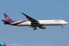 HS-TKQ (minh261) Tags: thai airways boeing 777 777300 777300er bangkok suvarnabhumi airport