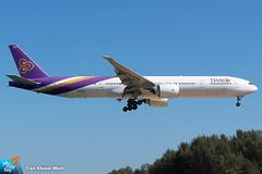 HS-TKN (minh261) Tags: thai airways boeing 777 777300 777300er bangkok suvarnabhumi airport