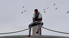 #65 (Leon Miranda) Tags: rain windbreaker reais new joggers kalback casual grey vasity slipper
