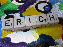 Erich -7 points (hussi48) Tags: name letramix spiel bunt 7punkte smileonsaturday mynameiserich