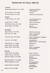 Grasshoppers Zurich vs West Bromwich Albion - 1981 - Page 34 (The Sky Strikers) Tags: grasshoppers zurich west bromwich albion wba brom sportplatz hardtum uefa cup programme fr 1
