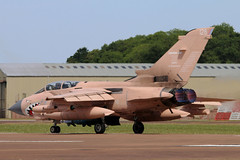 ZG750_03 (GH@BHD) Tags: panavia tornado tornadogr4 royalairforce riat2017 raffairford zg750 128 raf riat royalinternationalairtattoo fairford fighter bomber strikeaircraft military specialcolours pinky afterburner