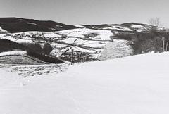 Boules de neige (leniners) Tags: 2019 france rhone saintmarcelléclairé saint marcel eclaire neige snow leica m6 leicam6 bw nb noir black white ilford hp5 plus ilfordhp5plus