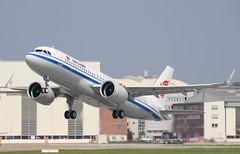 Air China, B-307K, MSN 8929, Airbus A 320-271N, 30.04.2019,  XFW-EDHI, Hamburg Finkenwerder (Delivered 30.04.2019) (henryk.konrad) Tags: airchina b307k msn8929 airbus a320271n 320neo neo hamburgfinkenwerder xfwedhi henrykkonrad