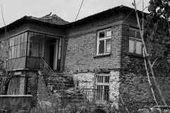 Old abandonet house (pap1tyy) Tags: bulgaria village old house abandonet plundered lonely doors windows stone wood tiles