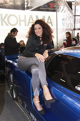 motorshow Hostess (themax2) Tags: 2009 bologna brunette girl high heels hostess motorshow highheels
