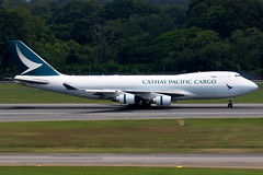 Cathay Pacific | Boeing 747-400ERF | B-LIB | Singapore Changi (Dennis HKG) Tags: aircraft airplane airport plane planespotting cargo freighter canon 7d 100400 singapore changi wsss sin cathay cathaypacific cpa cx boeing 747 747400 boeing747 boeing747400 747400f boeing747400f blib