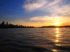 Vancouver Skyline (Plastik99) Tags: vancouver seabus