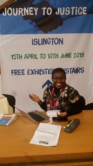 Ethel Tambudzai. Volunteer Coordinator for JtoJ Islington