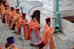 102. Божественная литургия в Успенском соборе 01.05.2019