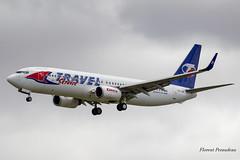 OK-TVF Travel Service Boeing 737-8FH(WL) (Florent Péraudeau) Tags: oktvf travel service boeing 7378fhwl 737 738 800 wl avgeeks aviationlovers