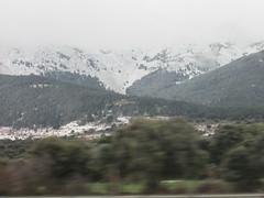 (sftrajan) Tags: españa spain sierradeguadarrama mountains snow nieve seenfromthebus espagne 2019