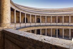 Palacio Carlos V (Granada) (U2iano) Tags: palacio palace carlos v granada andalucia españa spain alhambra