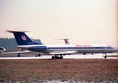 EW-65149@ZRH;03.02.1996 (Aero Icarus) Tags: zrh zürichkloten zurichairport zürichflughafen lszh plane avion aircraft flugzeug negativescan