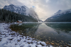 Lake Louise (Toni_pb) Tags: landscape waterscape water wild winterscape wildlife nikon nature nikkor1424f28 naturaleza nubes clouds contrast canada rockies rocosas canadianrockies louise lake lakelouise alberta jasper