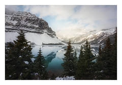 Bow Lake (Mark McLeod Photography) Tags: 2018 alberta autumn banff canada canmore markmcleod markmcleodphotography rockies colour fall forest landscape bowlake snow winter mountains